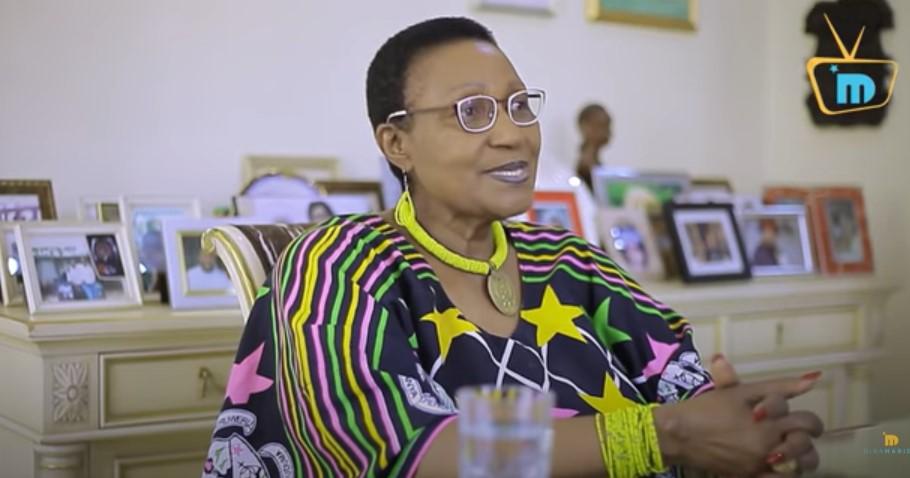 Mama Master Jay `{`Bi Scholastica Kimario's`}` history working at the UN