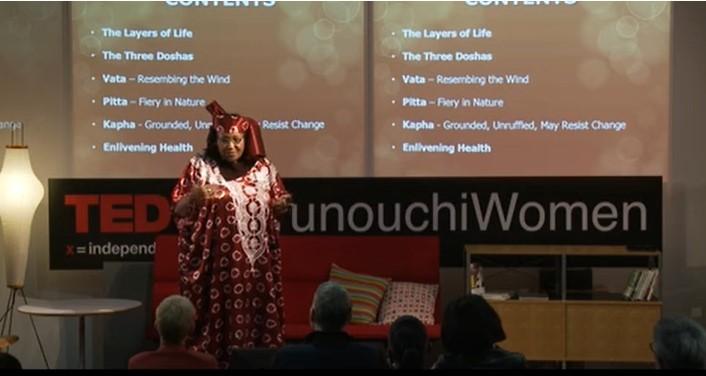 Scholastica Sylvan Kimaryo at  TEDxMarunouchiWomen